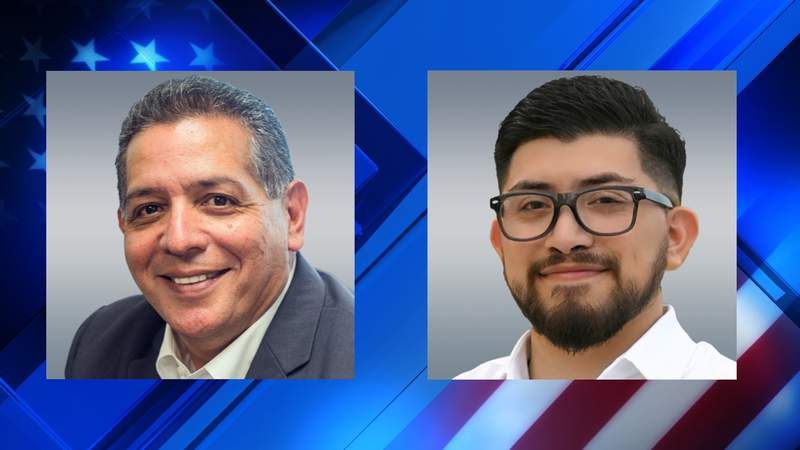 Republican John Lujan (left) and Democrat Frank Ramirez (right), will face off in a runoff Special Election for Texas House District 118. The winner will replace Leo Pacheco.