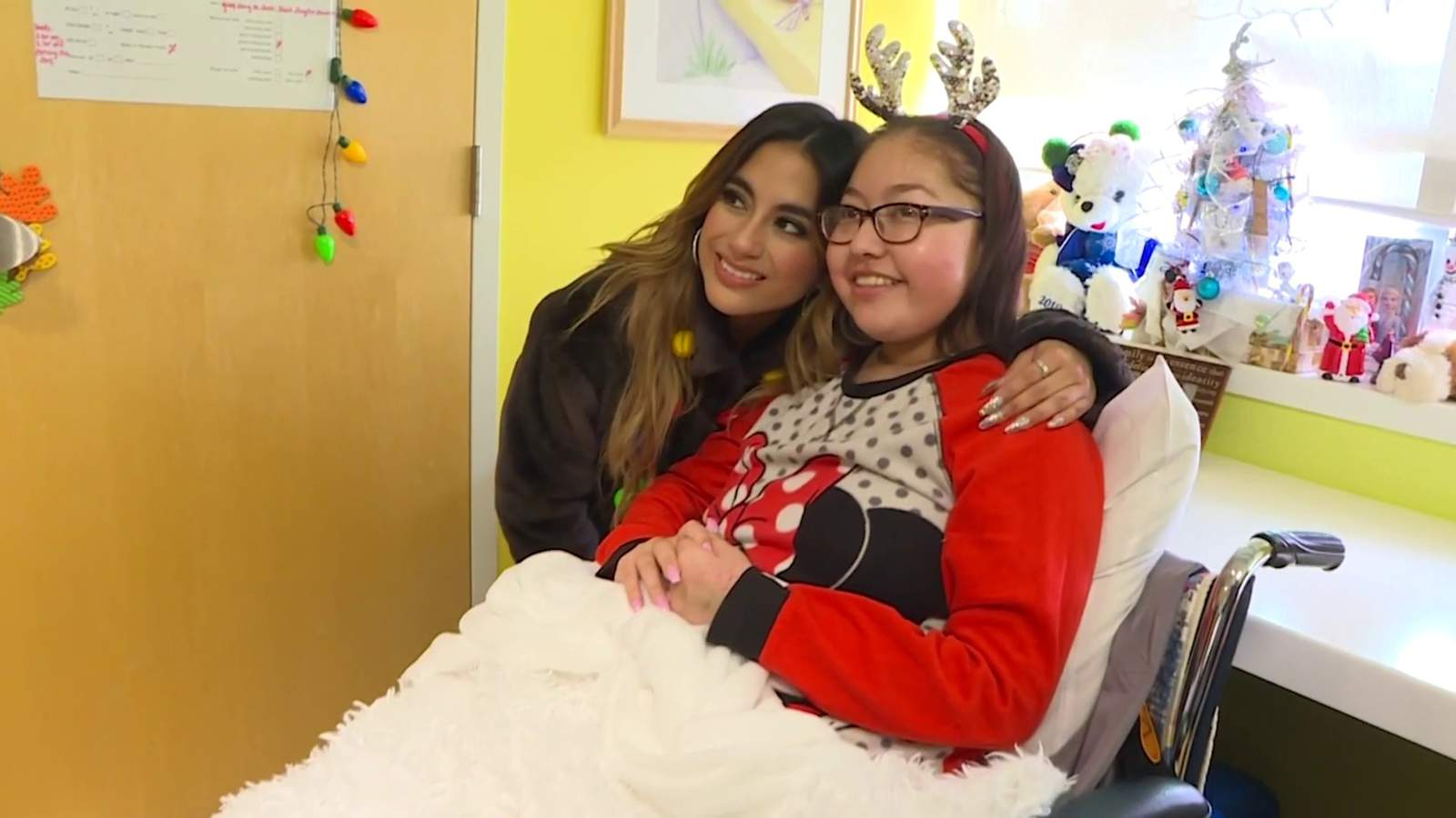 Singer Ally Brooke back home and spreading holiday cheer
