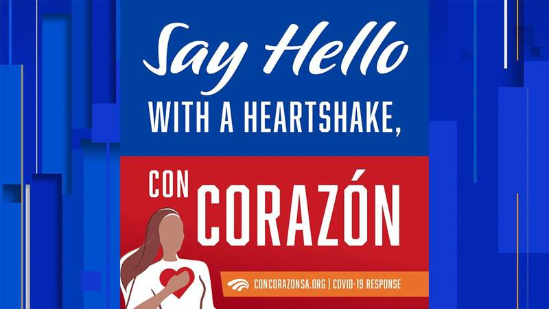 Campaign promotes 'Heartshakes' as safer alternative to fist, elbow bumps