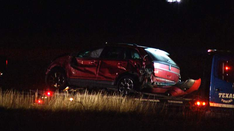 Highway 90 rollover image.