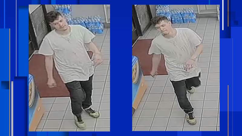 The San Antonio Police need the public's help in identifying a man they say is a person of interest in an aggravated robbery on the Southwest Side in August.