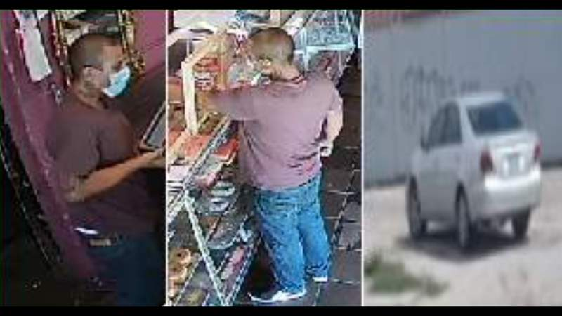 SAPD, Crime Stoppers searching for person who robbed bakery, threatened employee with weapon