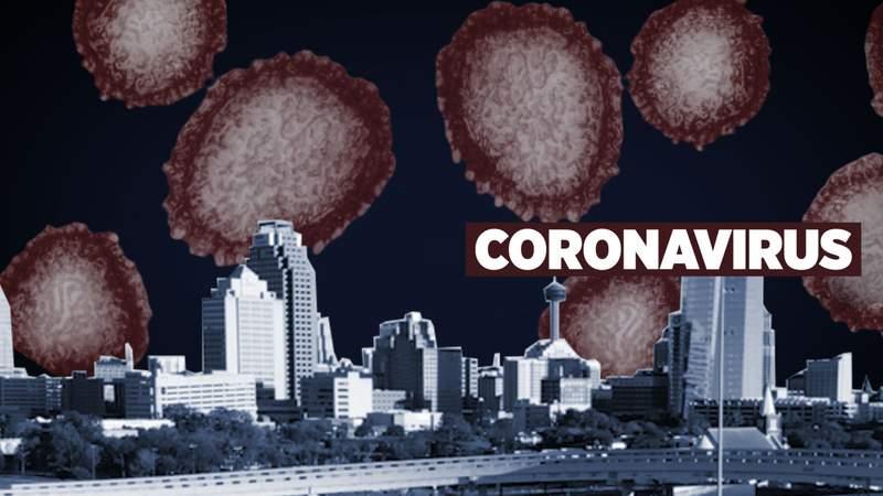 Coronavirus in San Antonio | Illustration by Valerie Gomez