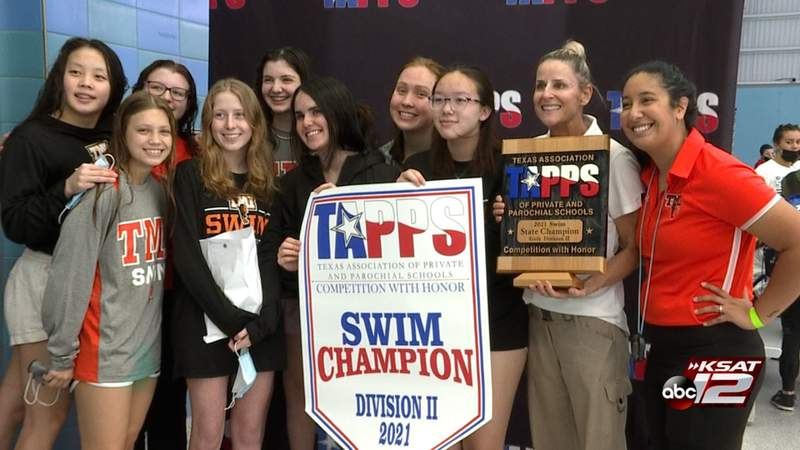 HIGHLIGHTS: Kitayama, Holcomb power TMI girls to first TAPPS Division II state title