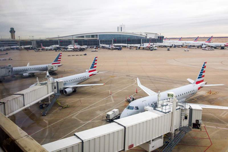 In a statement Thursday, American Airlines took specific aim at Senate Bill 7, which would impose sweeping restrictions that take particular aim at local efforts meant to make it easier to vote. (Credit: Getty Images)