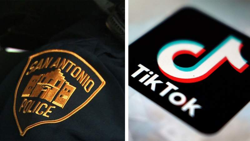A San Antonio police officer was suspended after making TikTok videos while on-duty.