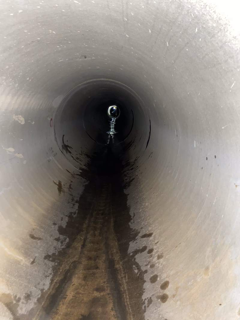 Man trapped in tunnel drainage system rescued by Austin EMS. (Credit: Austin-Travis County EMS Twitter)