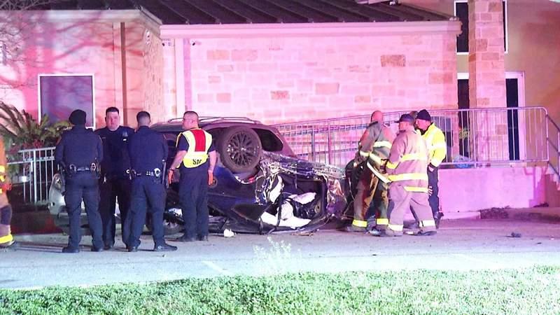 Driver killed in rollover crash on Camp Bullis Road
