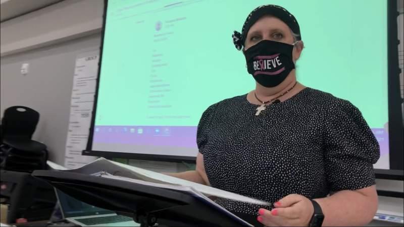 Teacher Spotlight: Krueger MS Band and Art Director, Vicky Watson