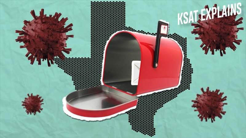 KSAT Explains: Your questions answered about mail-in voting controversy in Texas during coronavirus pandemic