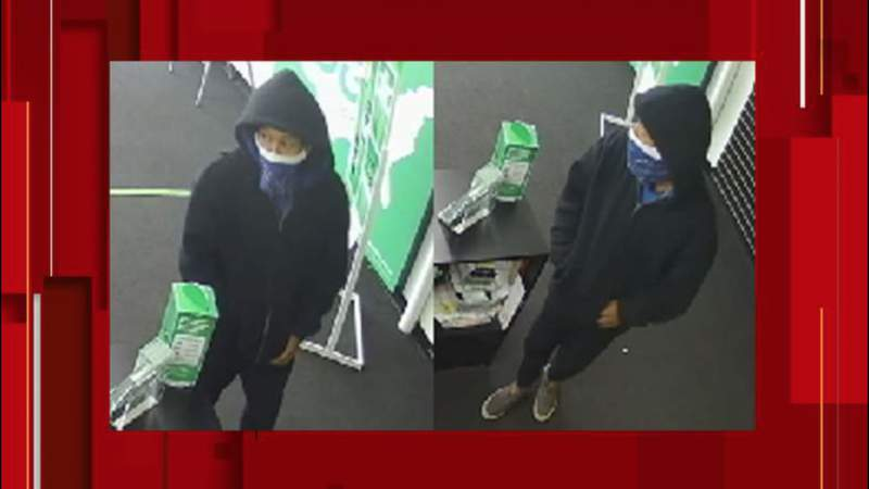 San Antonio police searching for suspect in Cricket Wireless robbery
