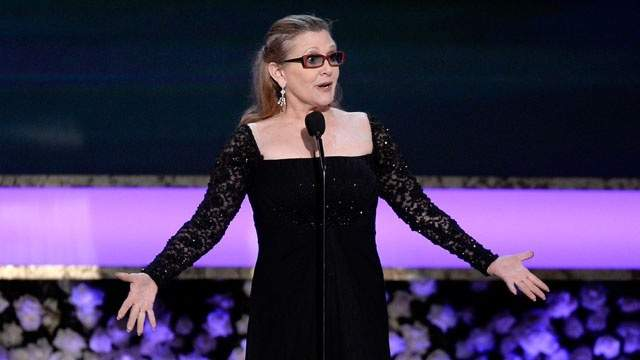 """""""Star Wars"""" star Carrie Fisher's mother was a famous actress, singer and dancer."""