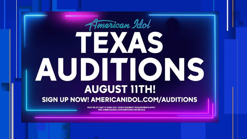 American Idol Texas Auditions are scheduled for Aug. 11, 2021.