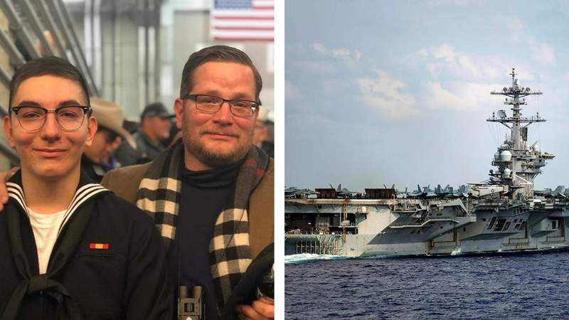 Navy searching for missing San Antonio sailor off Southern California coast