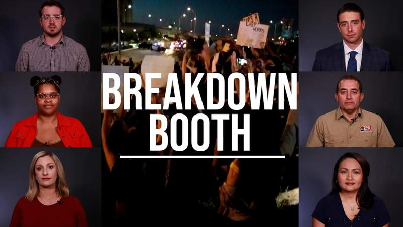 KSAT Explains Breakdown Booth: How the George Floyd protests played out in San Antonio