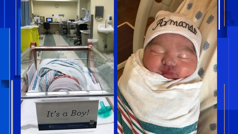 New mothers in San Antonio welcome best Mother's Day gifts ever