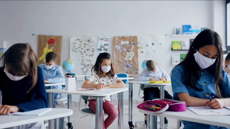 (COVID-19 data for schools)