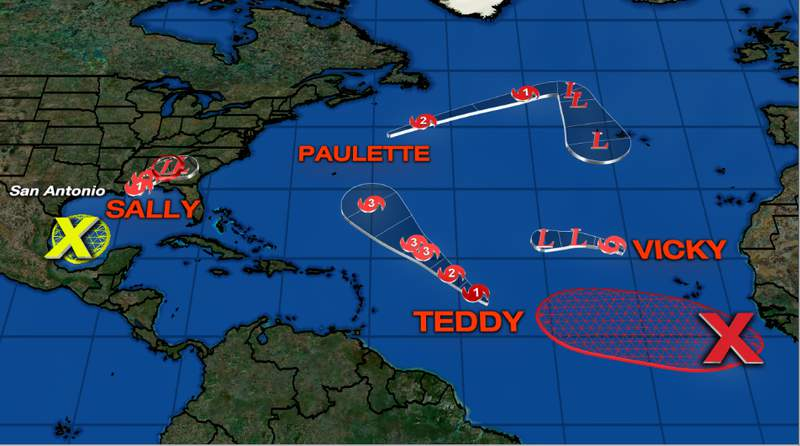 We're quickly running out of official names to use for the 2020 Atlantic Hurricane Season.