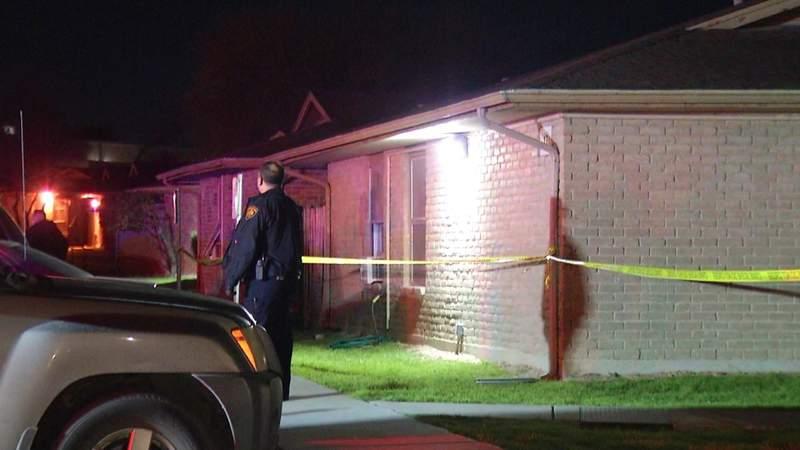 Man sleeping shot through apartment window, police say