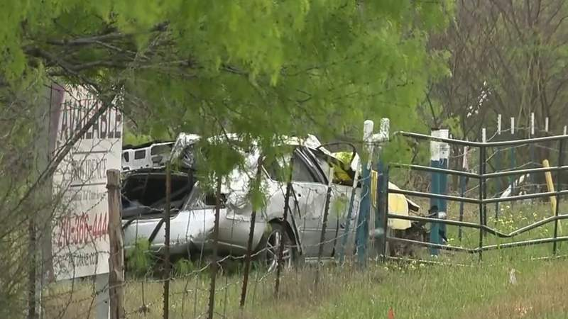 Driver killed in vehicle crash on access road of Highway 90, police say