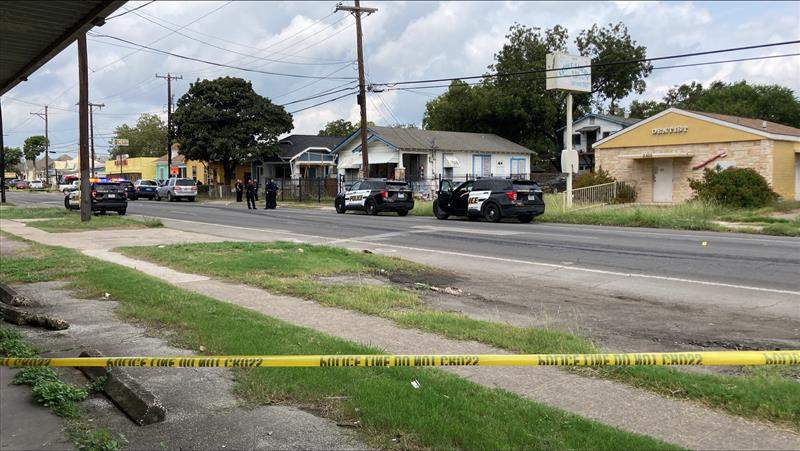 West Commerce Street shooting image.