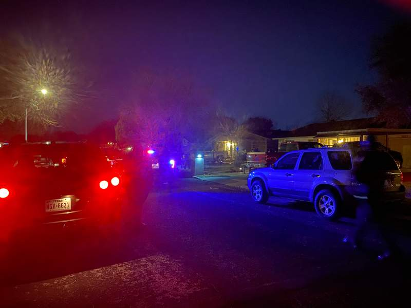 The incident happened around 9:30 p.m., Saturday, in the 3200 block of Stephen Foster.