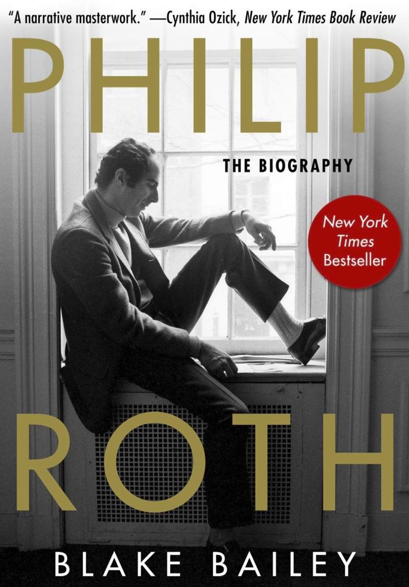 """This paperback cover image released by Skyhorse Publishing shows """"Philip Roth: The Biography,"""" by Blake Bailey. The long-awaited book about Roth that was pulled last month by original publisher W. W. Norton amid allegations of sexual assault and harassment against biographer Blake Bailey has a new publisher. Skyhorse Publishing has told The Associated Press that it will have Philip Roth: The Biography out in paperback on June 15. (Skyhorse Publishing via AP)"""