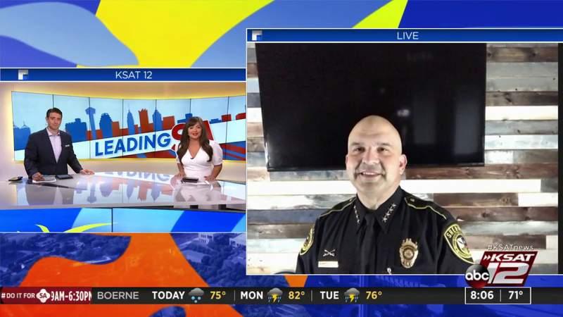 Leading SA: Bexar County Sheriff Javier Salazar discusses crime trends, BCSO arrests