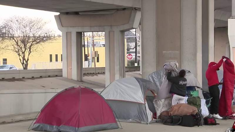 Homeless census count reveals fewer people staying in Bexar County shelters amid pandemic