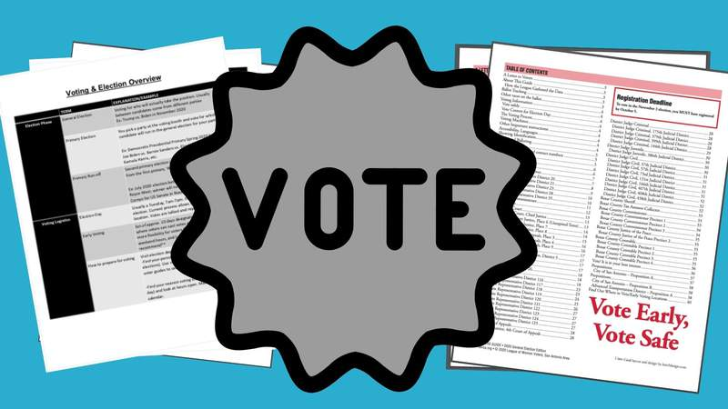 San Antonio organizations offer voting guide to help voters feel informed and confident about casting their ballot.