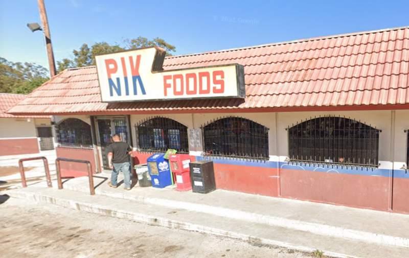 Pik Nik Foods, located in the 1200 block of S. Gen. McMullen.