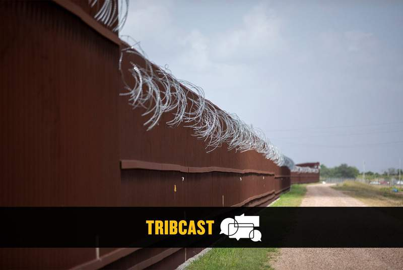 A section of border fence in Donna on June 27, 2019.