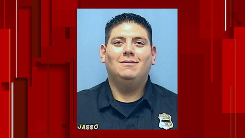 Former city of San Antonio detention officer Joaquin Jasso.