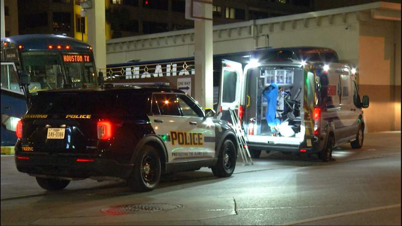 Man arrested after allegedly stealing ambulance, threatening hospital guard with knife