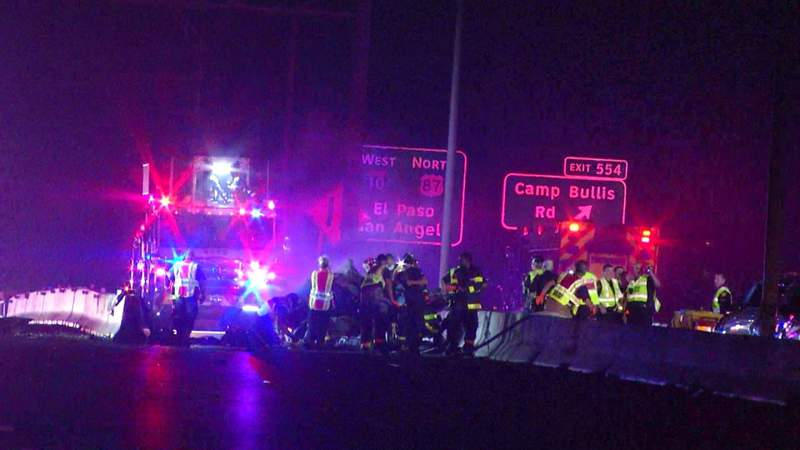 Driver killed after ejection in fiery rollover crash on I-10, police say