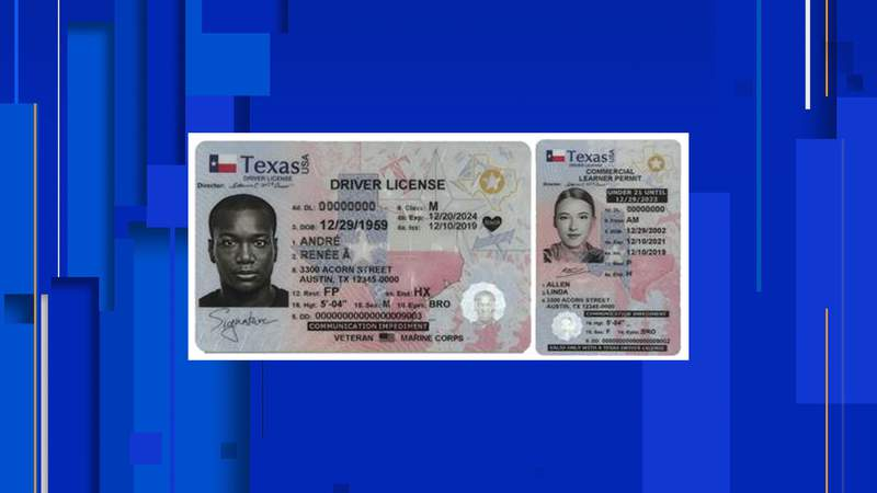 If you get a new driver's license, identification card or license to carry card in the state of Texas, you may notice a new design.