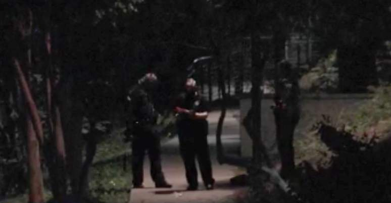 A woman is hospitalized after San Antonio police say she was stabbed by a man while walking down the San Antonio River Walk overnight.