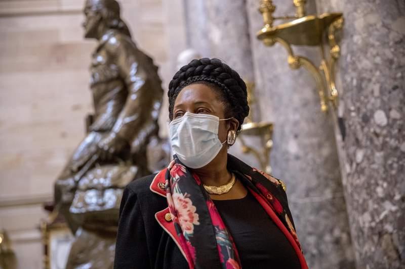 FILE - Rep. Sheila Jackson Lee, D-Texas (AP Photo/Andrew Harnik)
