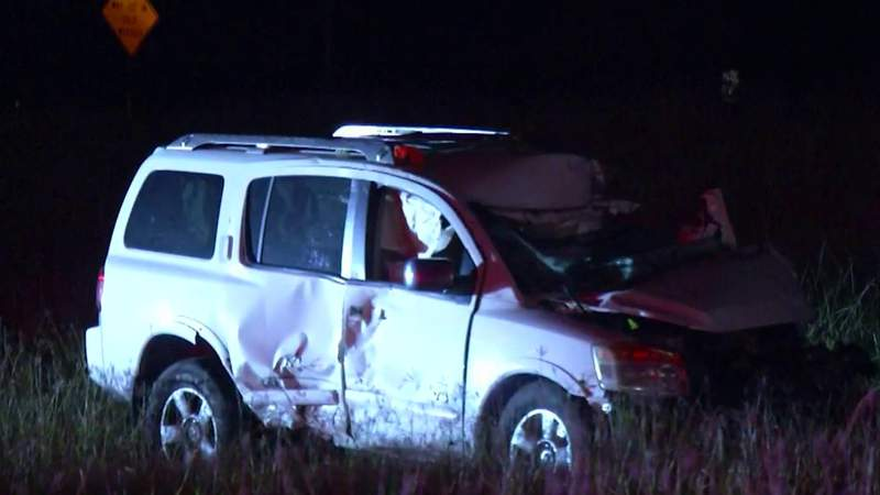 Driver extracted from vehicle following crash on Loop 1604, police say