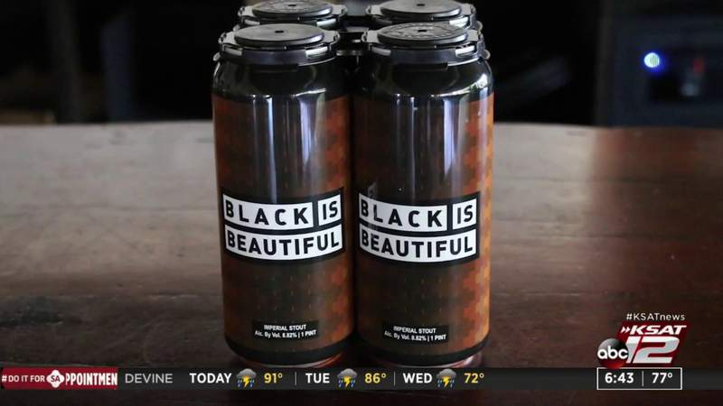 """WATCH: Weathered Souls' """"Black is Beautiful"""" beer reaches new heights"""