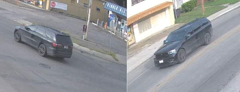 Image of a vehicle in the slaying of a 38-year-old man.