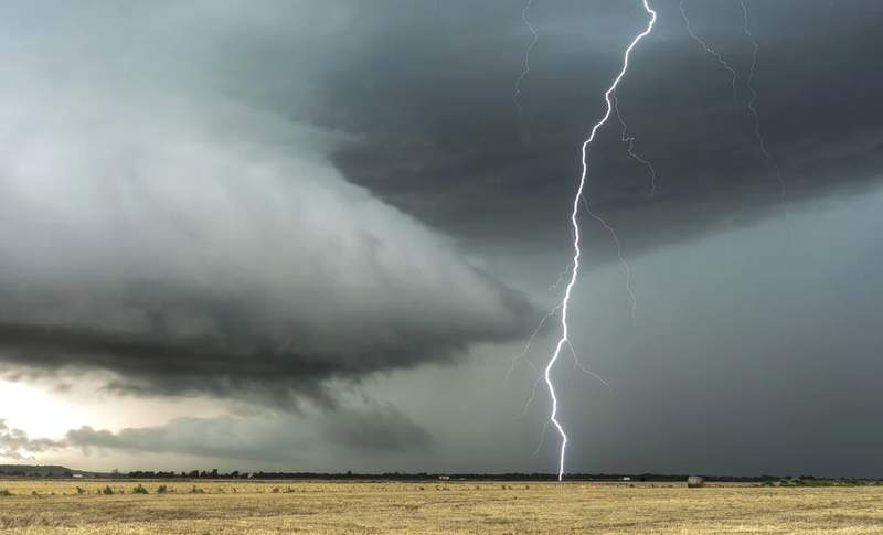 Generic image of a thunderstorm.