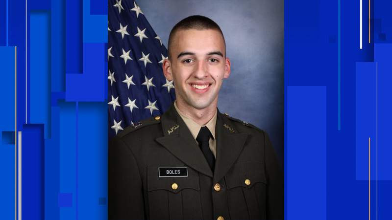 Ryan Boles, a member of the Corps of Cadets, has died, Texas A&M University confirmed. Image: Texas A&M Corps of Cadets