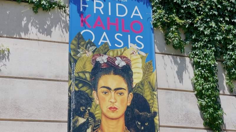 New Frida Kahlo exhibition opens Saturday at San Antonio Botanical Garden.