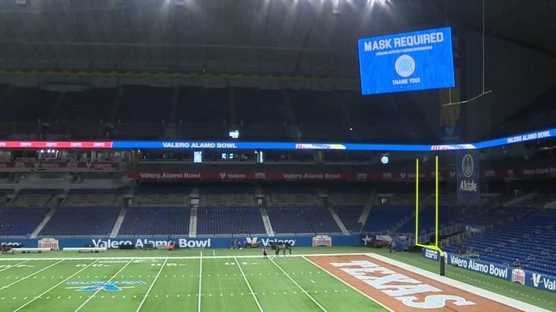 Officials unveil safety measures for Valero Alamo Bowl