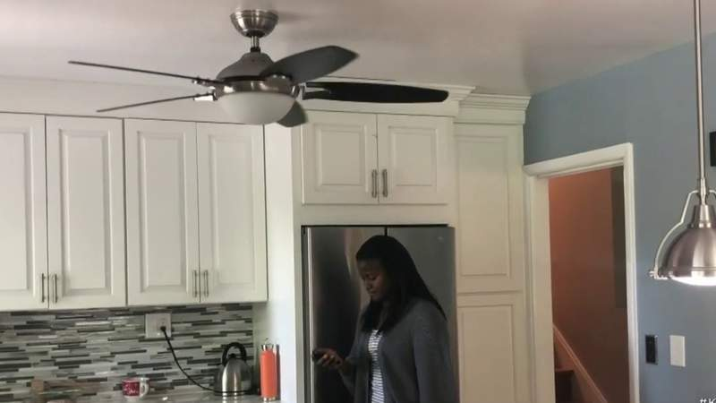 Ceiling fans can keep you cool and help you conserve electricity