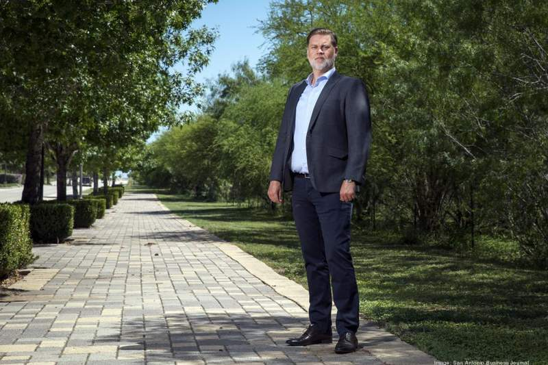 Thad Rutherford, president of SouthStar Communities – the developer working on the Vida development.