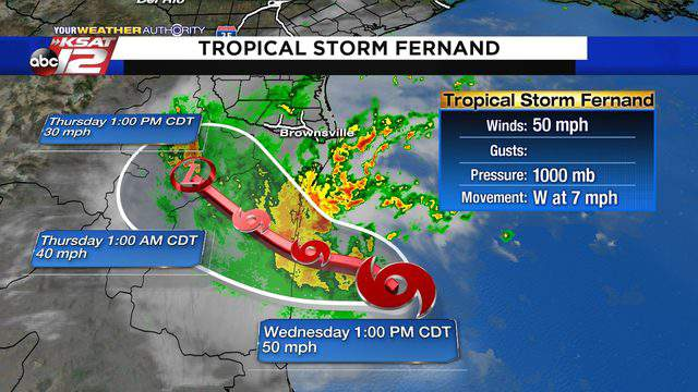 Tropical Storm Fernand Not Expected To Impact Weather In