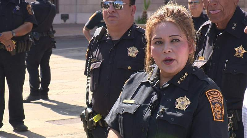 Pre-trial hearing date set for embattled former Precinct 2 Constable Michelle Barrientes-Vela