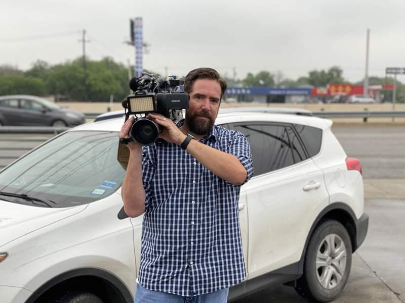 KSAT investigative photojournalist Josh Saunders, a member of the KSAT 12 Defenders